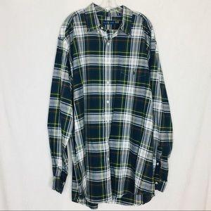 Polo Ralph Lauren Plaid Button Down Shirt 2XLT